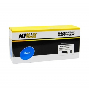 Картридж HP CLJ Q6001A, Hi-Black, синий